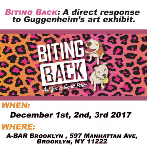 Biting Back - Art Charity Event