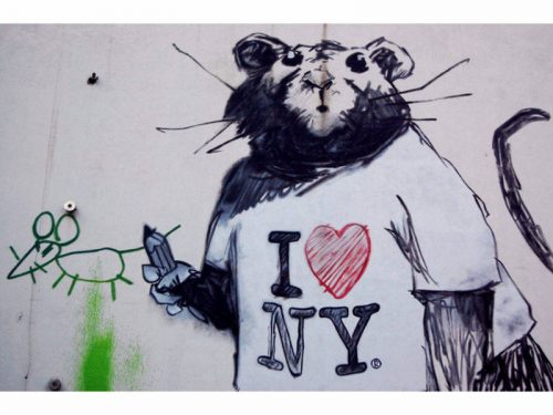 Subway rats are on trend this week.