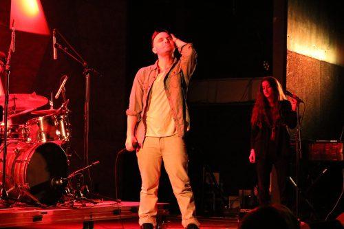 Autre Ne Veut performing at Elsewhere, Photo by Megan Penmann