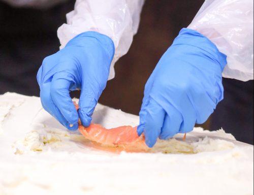 Acme Smoked Fish World Record Bagel, Photo by Johnny Cirillo
