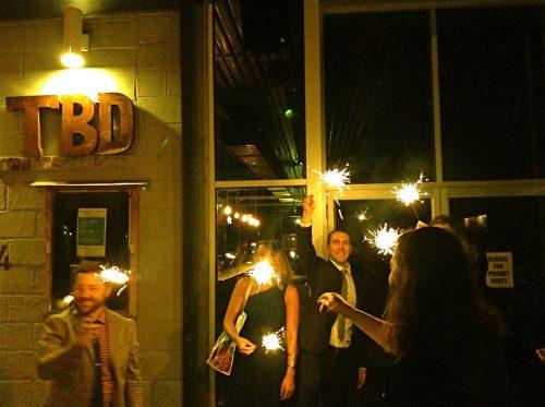 The front of t.b.d., photo via t.b.d.