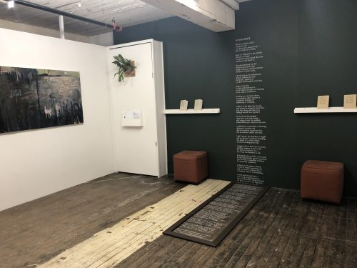Calico Gallery, Field For Ballads with Hannah Hill and Hannah Aizenman's work