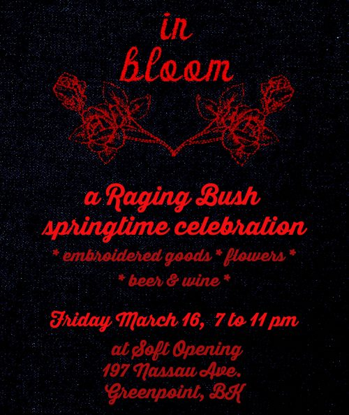 Raging Bush - A Springtime Celebration