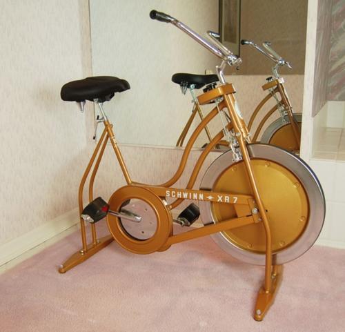 Vintage spin bike