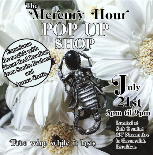 mercury hour popup - soft opening