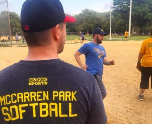 McCarren ballfield. Photo via Open Space Alliance