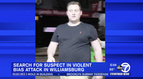 police search for hate crime perpetrator in williamsburg