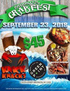 Crab Bash, Babefest, DIY Vegan Cheese, Rock the Pulaski, Bill Murray Birthday Tribute— What's Happening, Greenpoint? (9/19-9/25)