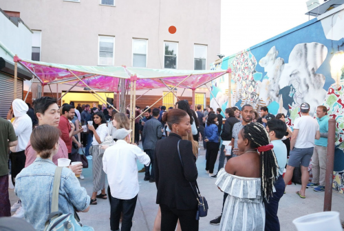 2018 Greenpoint Open Studios Launch Party at Java Studios