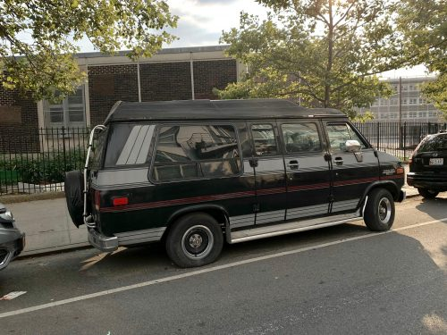 """""""Abandoned"""" Van Parked for More Than One Year Across From Greenpoint Middle School Neighbors Say"""
