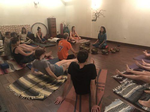 From Tibetan Soundbaths to Heated Vinyasa Human@Ease Classes Offer