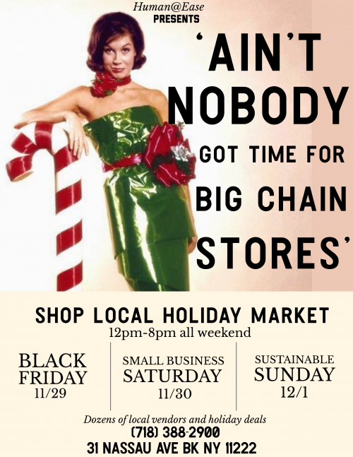 Shop Local: Friends Don't Let Friends Gift From Chain Stores
