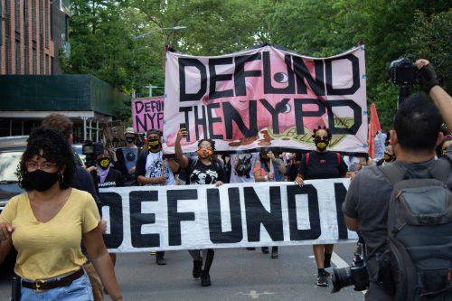 Bill de Blasio vows to defund to New York Police